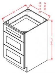 Drawer Base 18 DB18